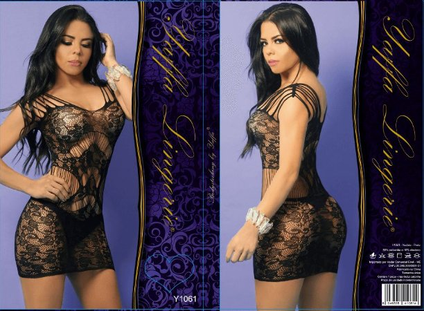Mini Vestido fitas Yaffa (y1061)