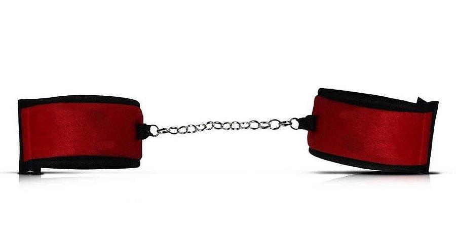 Algema De Tecido Vermelha (5008)