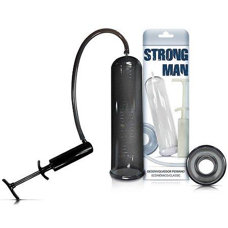 Bomba Strong Man - Fumê - Seringa Preta