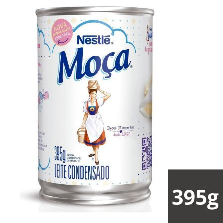 LEITE CONDENSADO MOCA LATA 395G