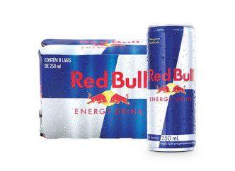 ENERGETICO RED BULL 8X250ml