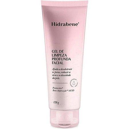 Hidrabene Gel de Limpeza Profunda Facial 120g