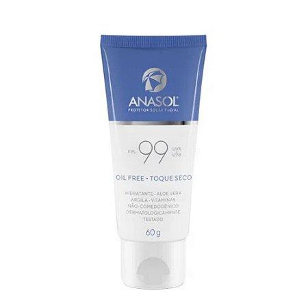 Anasol Protetor Solar Facial FPS 99 60g