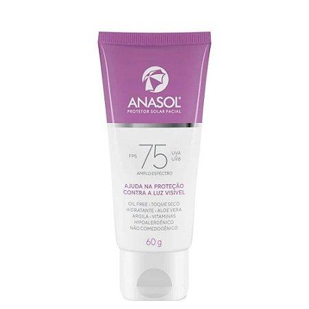 Anasol Protetor Solar Facial FPS 75 60g