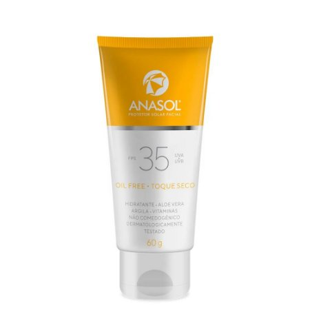 Anasol Protetor Solar Facial FPS35 60g