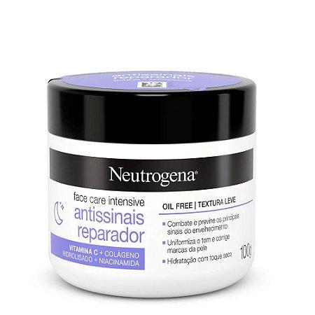 Neutrogena Face Care Intensive Antissinais Reparador 100g