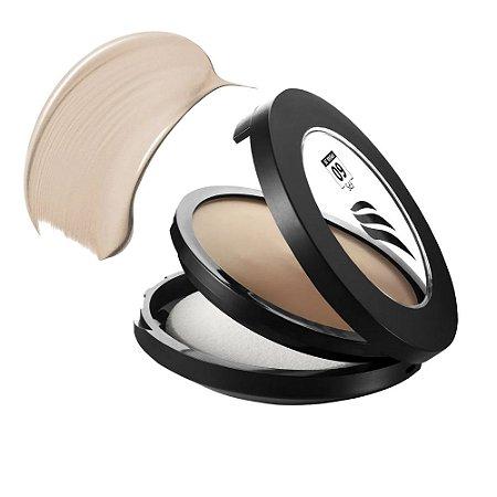 Pinkcheeks Pó Facial Cremoso Cream Powder Sport Make Up Bege Medio FPS 60 14g