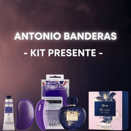 Antonio Banderas Her Secret Bloom Kit Presente Feminino