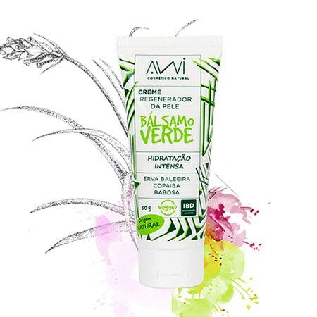 Awi Creme Regenerador da pele Bálsamo Verde 50g