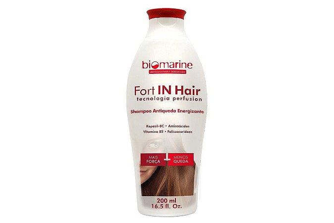 Biomarine Fort In Hair Shampoo Antiqueda Energizante 200ml