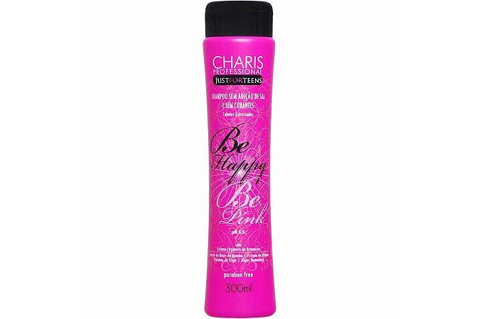Charis Shampoo Teens Be Happy Be Pink 300ml
