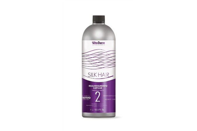 Vita Derm Silk Hair Realinhamento Capilar 1000ml