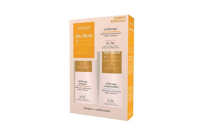 Alta Moda Kit Oil Therapy Shampoo e Condicionador 300ml