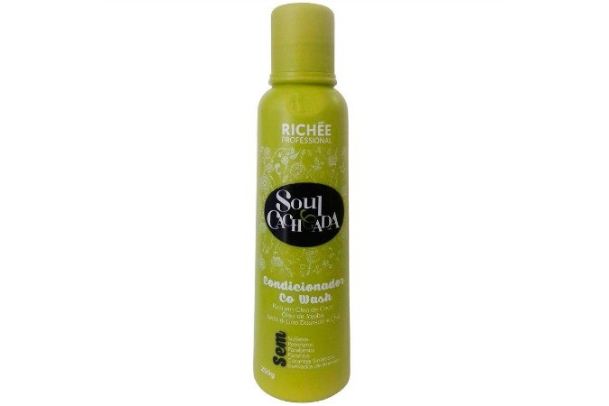 Richee Soul Cacheada Condicionador Co Wash 250g
