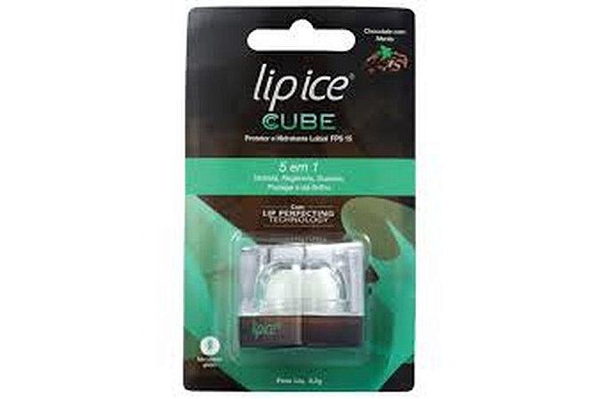 Lip Ice Cube Protetor Labial Chocolate Com Menta FPS15