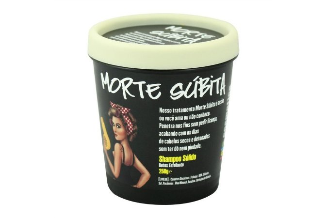 Lola Cosmetics Morte Súbita Shampoo Sólido 250g