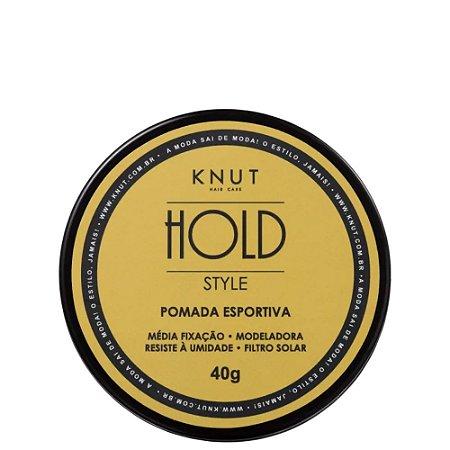 Knut Pomada Esportiva Hold Style 40g