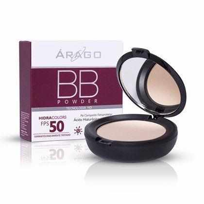 Arago Bb Powder Hidracolors FPS50 Bege 12g