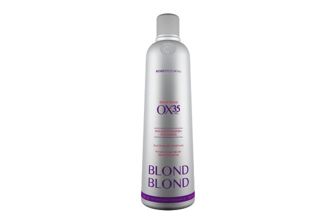 Richee Blond Emulsão Cremosa Matizadora Ox35 900ml