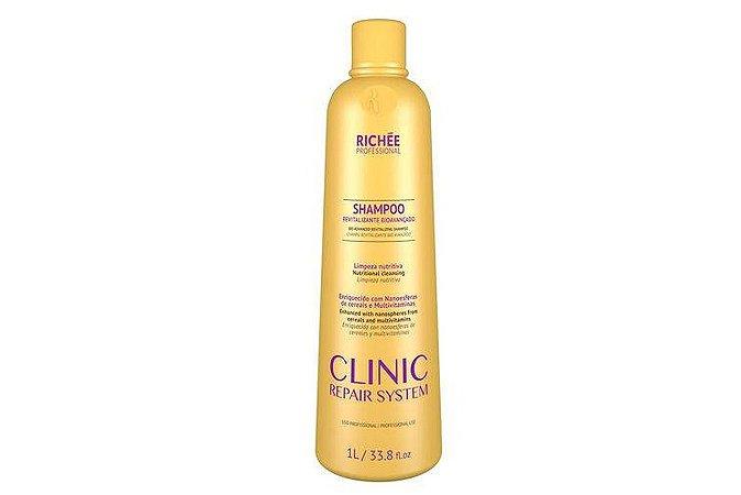 Richee Clinic Repair Shampoo Revit. e Bio Avançado 1000ml