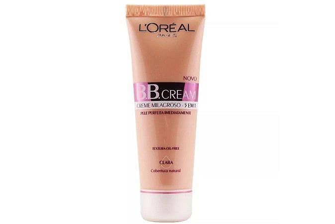 Loreal Paris BB Cream Base Clara 5 em 1 FPS20 30ml
