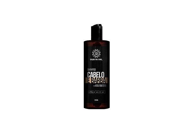 Derma Nail Shampoo Cabelo e Barba 240ml