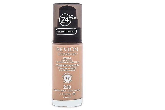 Revlon Base Colorst Pump Oleosa Natural Beige 220 30ml