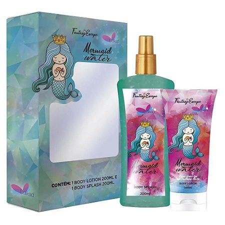 Kit Delikad Fantasy Sereia (Body Splash + Body Lotion) 2 x 200ml