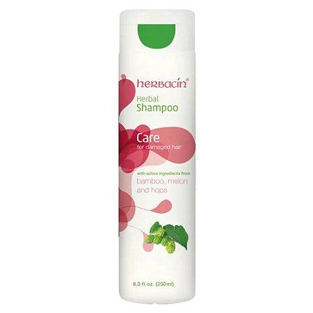 Herbacin Herbal Shampoo para Cabelos Danificados Disp 250ml