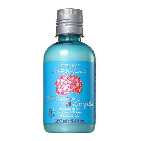 Orgânica Shampoo Vegetal Chá branco e Gengibre 250ml
