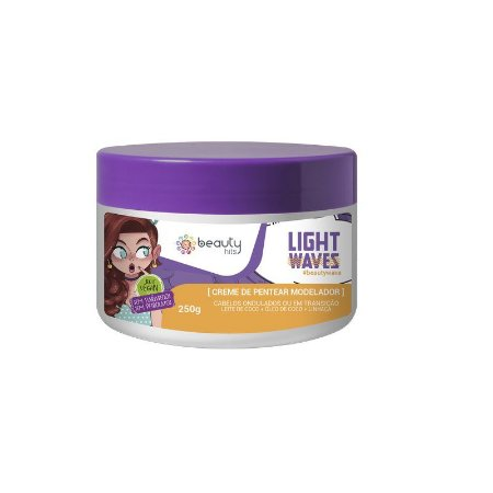 Beauty Hits Creme de Pentear Light Waves 250g