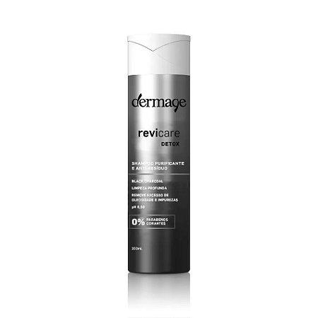 Dermage Revicare Detox Antirresíduo Black Shampoo 200ml