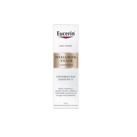 Eucerin Hyaluron Filler Elasticity Contorno dos Olhos FPS15 15ml