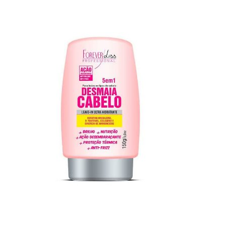 Forever Liss Desmaia Cabelo Leave-In 5 Em 1 150g