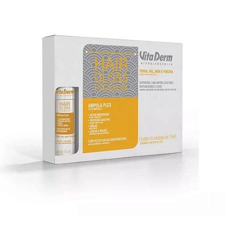 Vita Derm Hair Gloss Premium Ampola Plex 15ml