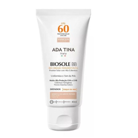 Ada Tina Biosole BB Cream FPS60 Cor 25 Vaniglia 40ml
