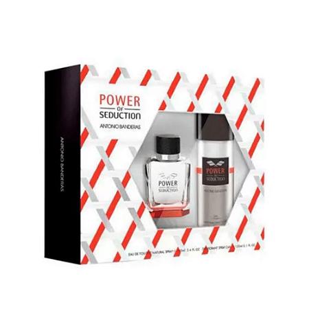 Antonio Banderas Kit Power Of Seduction 100ml Eau de Toilette + Desodorante 150ml