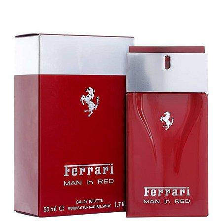 Ferrari Man In Red Perfume Masculino Eau de Toilette 50ml