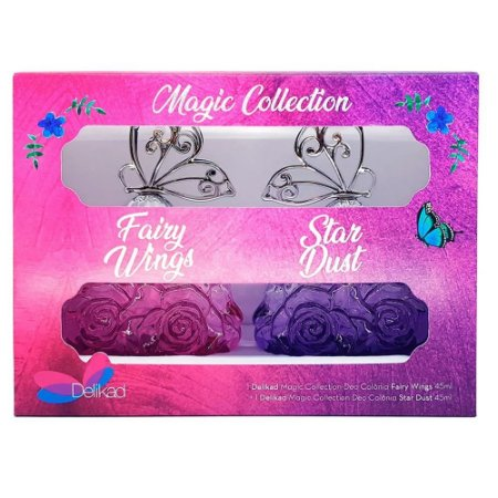 Kit Delikad Deo Colonia Magic Collection Fairy Wings and Star Dust 2 x 45ml