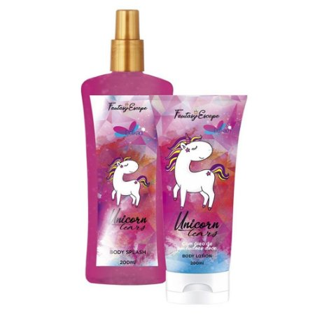 Delikad Fantasy Kit Unicornio Body Splash + Body Lotion 200ml