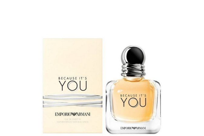Girgio Armani Emporio Because She Perfume Feminino Eau de Parfum 50ml