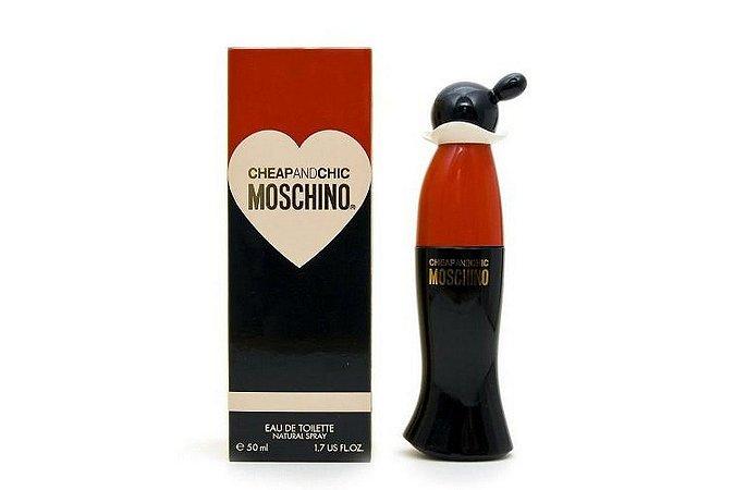 Moschino Cheap And Chic Perfume Feminino Eau de Toilette 50ml