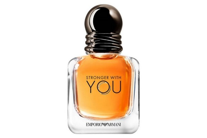 Giorgio Armani Stronger With You Perfume Masculino Eau de Toilette 50ml