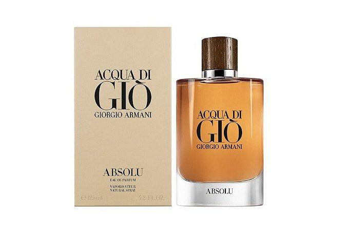 Giorgio Armani Acqua Di Gio Absolu Perfume Masculino Eau de Parfum 125ml