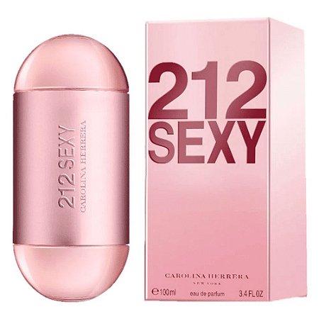 Carolina Herrera 212 Sexy Perfume Feminino Eau de Parfum 100ml