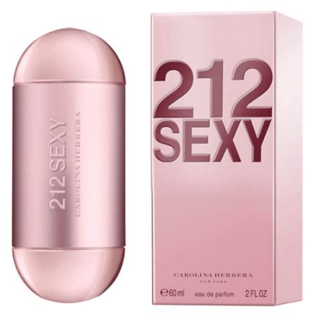 Carolina Herrera 212 Sexy Perfume Feminino Eau de Parfum 60ml