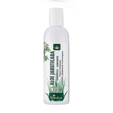 Live Aloe Shampoo-Sabonete Aloe Jabuticaba 240ml