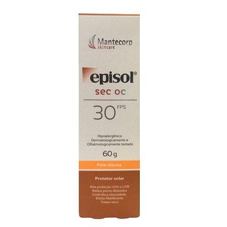 Mantecorp Episol Sec Oc Protetor Solar FPS30 60g