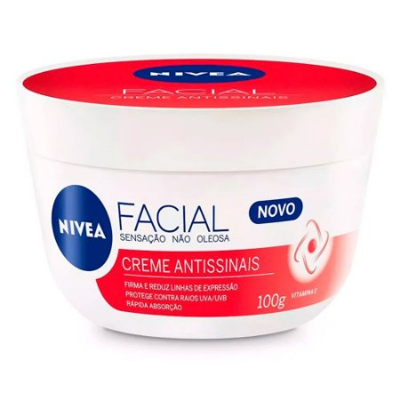 Nivea Creme Facial Antissinais Vitamina E 100g