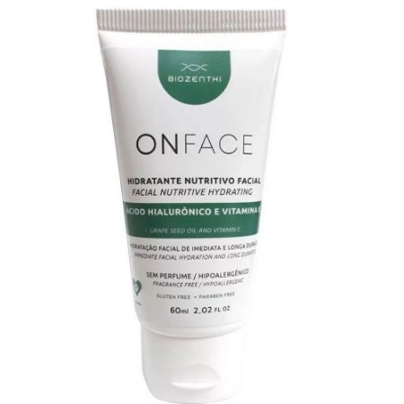 Biozenthi Onface Hidratante Nutritivo Facial 60ml